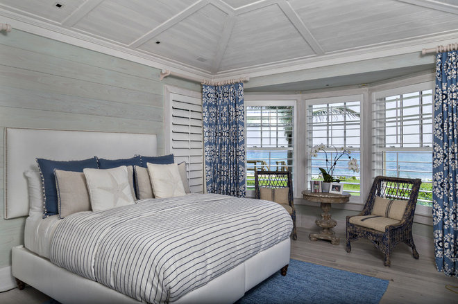 Beach Style Bedroom by Village Architects AIA, Inc.