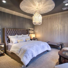Transitional Bedroom by Jaggers Home Design