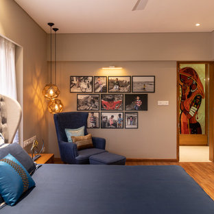 Bon Inspiration For An Asian Bedroom Remodel In Ahmedabad