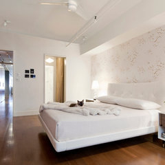 modern bedroom by Aman Architecture LLC