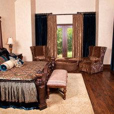Traditional Bedroom by Brandi Renee Designs, LLC