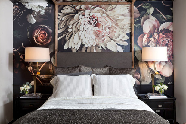 Eclectic Bedroom by Post 31 Interiors