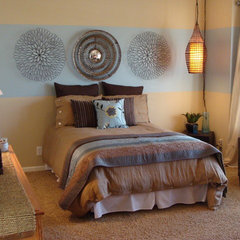 contemporary bedroom by Fluff Your Stuff Interior Design Omaha