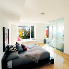 Contemporary Bedroom by LineBox Studio