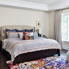 Traditional Bedroom by Sara Bederman Interior Design