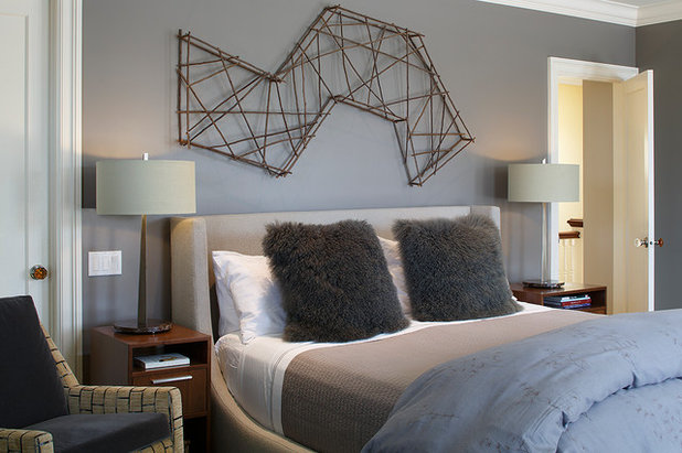Contemporary Bedroom by Christopher Hoover - Environmental Design Services
