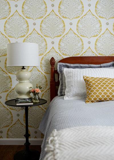 Traditional Bedroom by Jill Cordner Interior Design