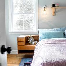 Eclectic Bedroom by Landing Design & Development