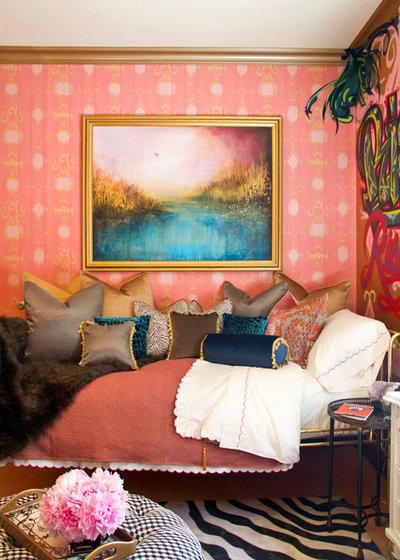 ヴィクトリアン 寝室 by Erika Bierman Photography