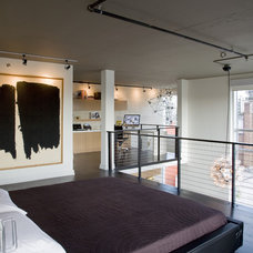 Industrial Bedroom by FORMA Design