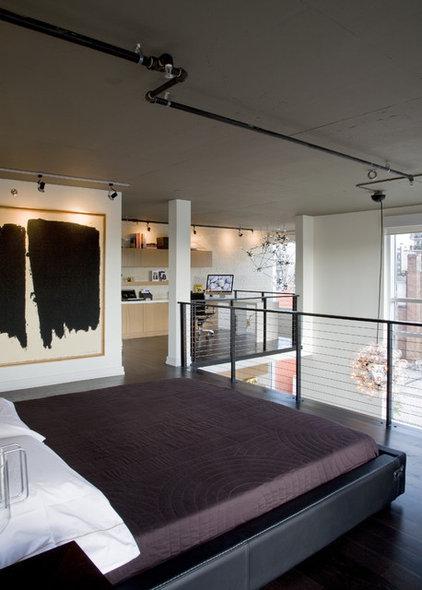 Industrial Bedroom by FORMA Design