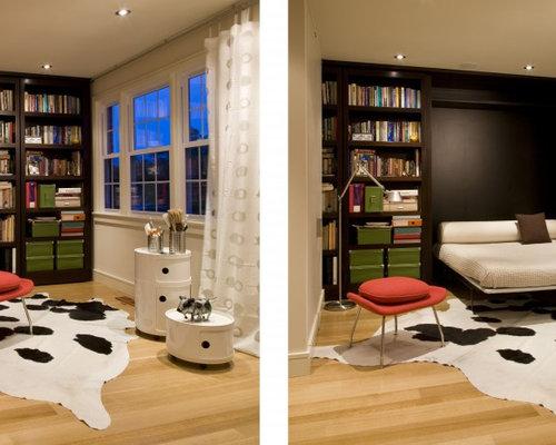 bookshelf murphy bed photos - Murphy Bed Design Ideas