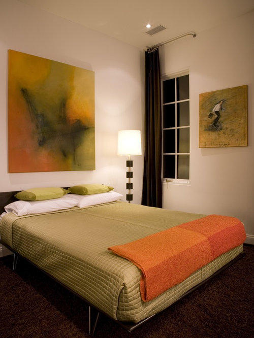 Green and orange ideas pictures remodel and decor for Orange and green bedroom designs