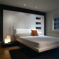 contemporary bedroom by FORMA Design