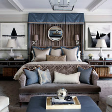 Traditional Bedroom by S. B. Long Interiors