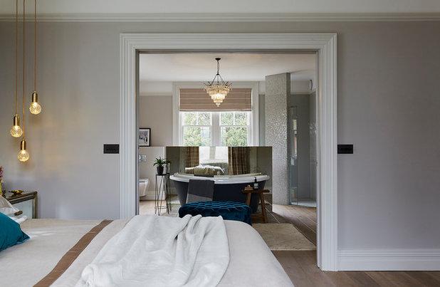 Industrial Bedroom by Cherie Lee Interiors