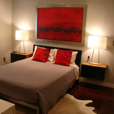 Contemporary Bedroom by Charlton Designs