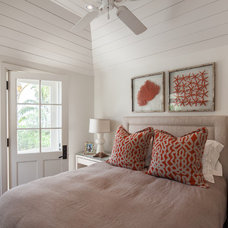 Beach Style Bedroom by Laura Hay DECOR & DESIGN Inc.