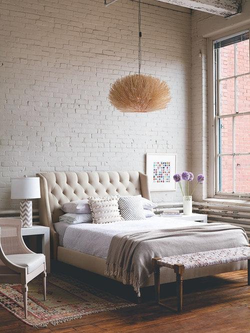 industrial schlafzimmer im loft style ideen design houzz. Black Bedroom Furniture Sets. Home Design Ideas