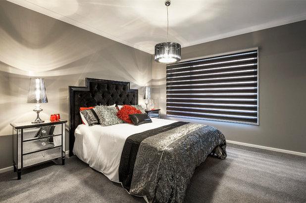 モダン 寝室 by Davis Sanders Homes