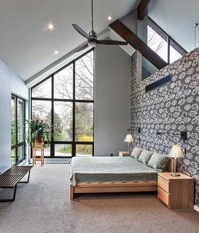 Contemporain Chambre by FoxLin Architects