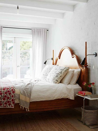 Transitional Bedroom by Context Design and Build