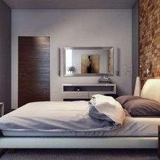 Modern Bedroom by DAYORIS DOORS / PANELS