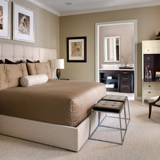 Eclectic Bedroom by Franco A. Pasquale Design Associates, Inc