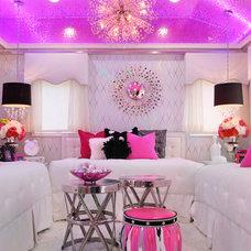 Eclectic Bedroom by Jeri Koegel Photography
