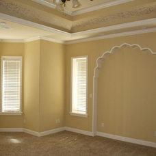 Mediterranean Bedroom by Stewart Home Plan & Design
