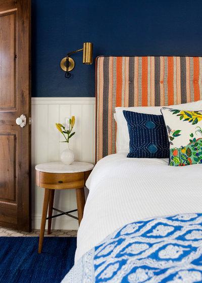 トランジショナル 寝室 by Taylor Jacobson Interior Design