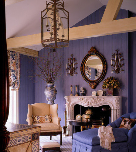 blue and purple bedroom design ideas remodels photos