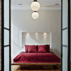 Industrial Bedroom by Jane Kim Design
