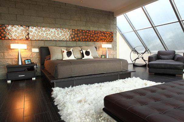 Contemporary Bedroom by Cantoni