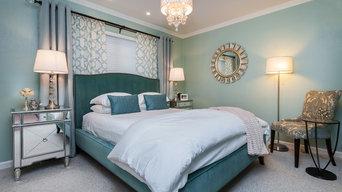 Fremont Glam Guest Bedroom