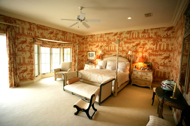 Traditional Bedroom by European Design and Trading Company