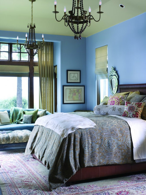 Blue Green Paint Houzz