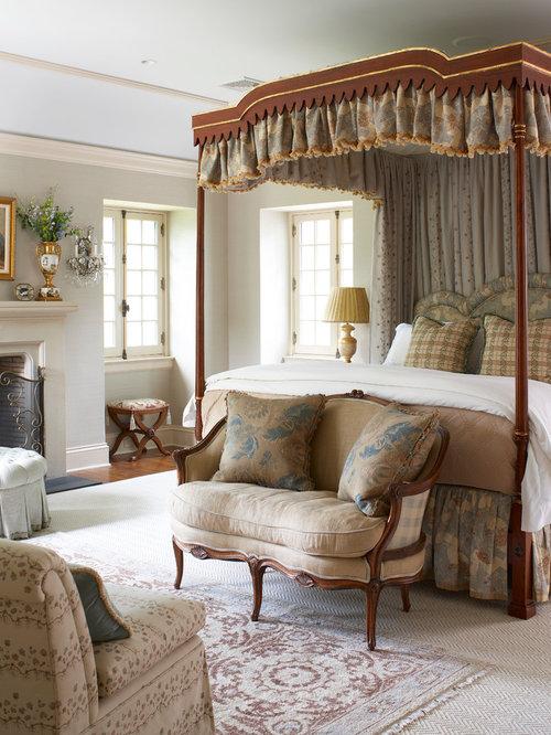 Houzz – English Bedroom Design