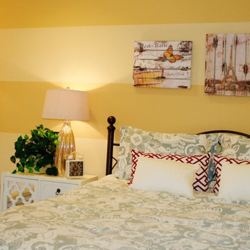 French Country Guest Bedroom