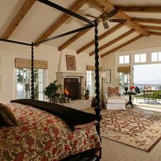 Tropical Bedroom by Giffin & Crane General Contractors, Inc.
