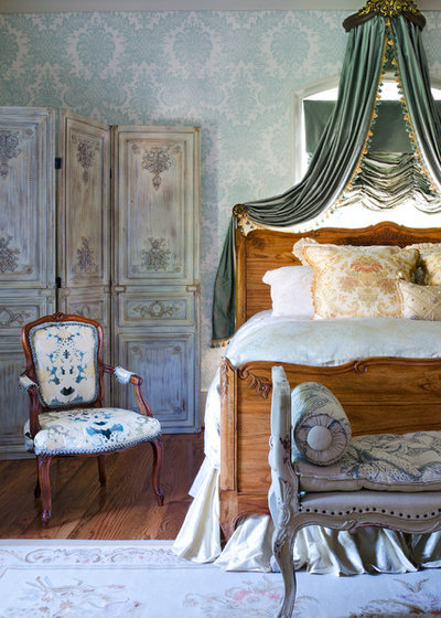 French Country Bedroom by Cabell Design Studio