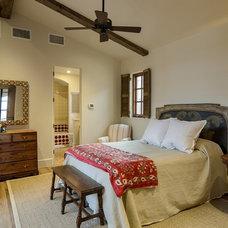 Mediterranean Bedroom by SILVERTON CUSTOM HOMES