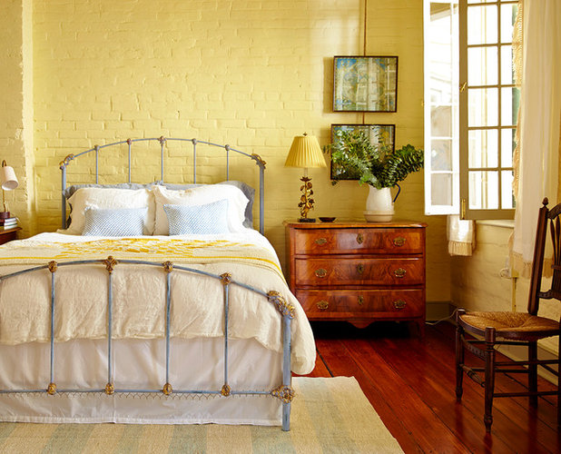 Eclectic Bedroom by Logan Killen Interiors. Set the Mood  4 Colors for a Cozy Bedroom