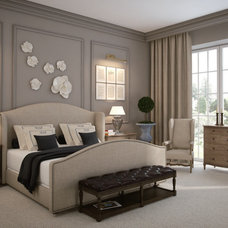 traditional bedroom by Zin Home