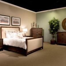 Eclectic Bedroom by Zin Home