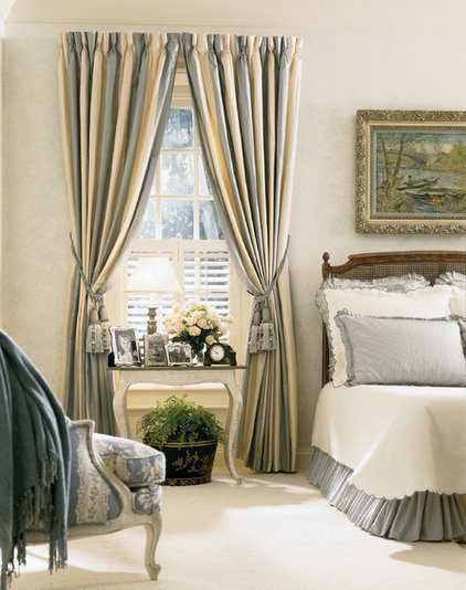 traditional bedroom by diSalvo Interiors