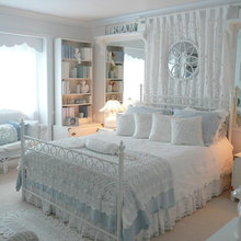 Romantic master bedrooms or guestrooms