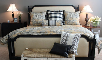 Frenchy Americana- Allesandra bed with custom toille bedding