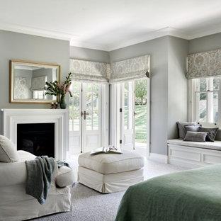 Traditional bedroom in Sydney.