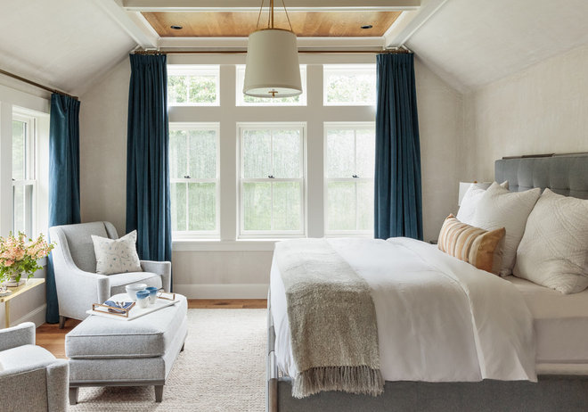 Farmhouse Bedroom by Jess Cooney Interiors